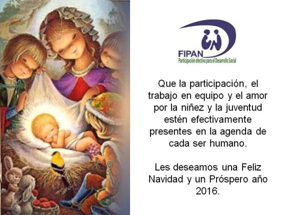 tarjeta navidad y ac3b1o nuevo fipan 2015